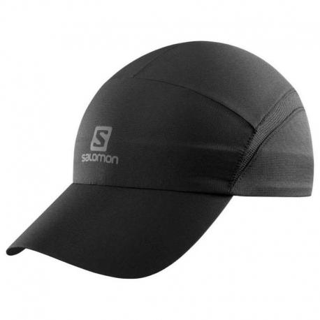 Casquette Salomon XA CAP Black reflectiv petit logo