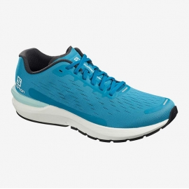 Salomon Sonic 3 Balance Fjord Blue White Black Homme