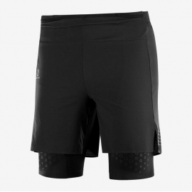 Salomon Exo Motion Twin Skin Short Noir Homme