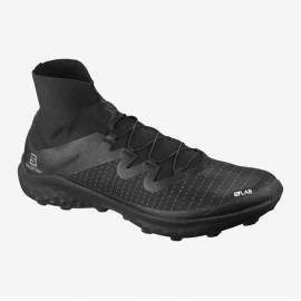 Salomon S/LAB Shoes Cross Black White Black