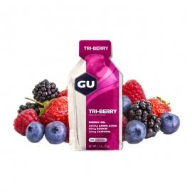 GU Gel Energy Tri Berry Trois Fruits Rouges dietetique running