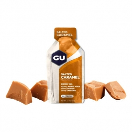 GU Gel Energy Salted Caramel Caramel salé dietetique running