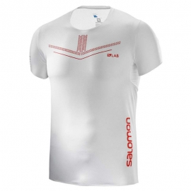 Salomon S/LAB Sense Tee White Homme