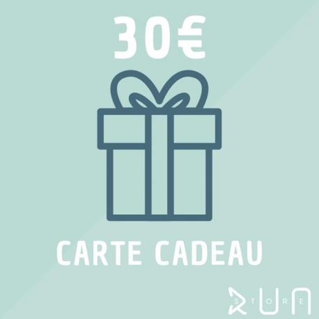 Carte Cadeau 30 € runstore bordeaux trailstore