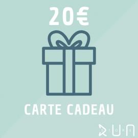 Carte Cadeau 20 € runstore bordeaux trailstore