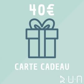 Carte Cadeau 40 € runstore bordeaux trailstore