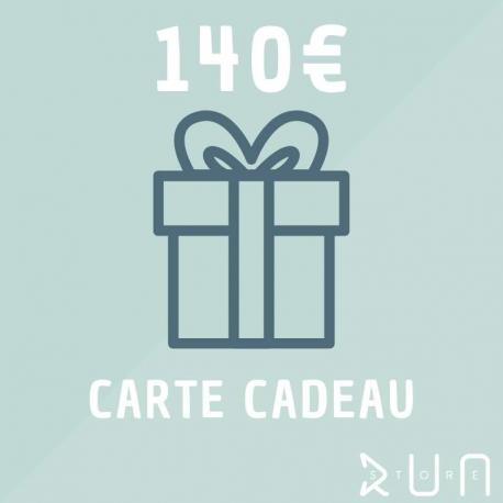 Carte Cadeau 140 €