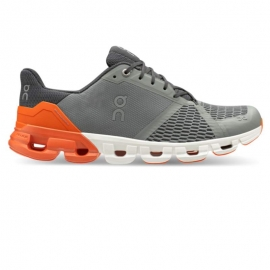 On Running Cloudflyer Grey orange Homme