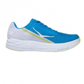 Hoka Rocket X White Diva Blue