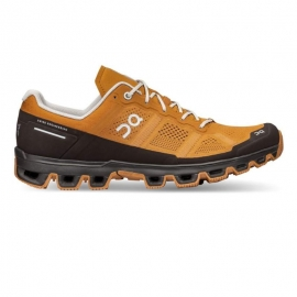 On Running Cloudventure Pecan Brown Homme