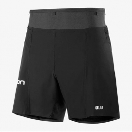 Salomon S/LAB Sense Short 6 pouces Black Homme