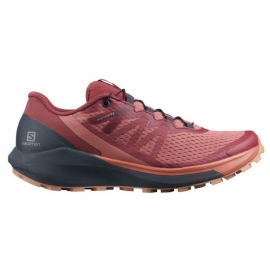 Salomon Sense Ride 4 Brick Dust India Sirocco Femme