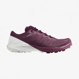 Salomon Sense Pro 4 Navy violette blanche Femme