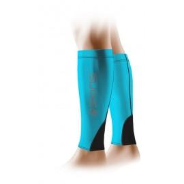 Manchons de compression Bleu et Noir Skins
