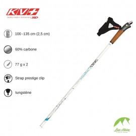 KV+ Bâtons Exclusive 60% Carbon - White