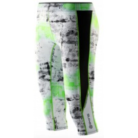 Skins A200 Women's Capri Tights Lime