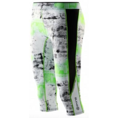 Skins A200 Women's Capri Tights Lime