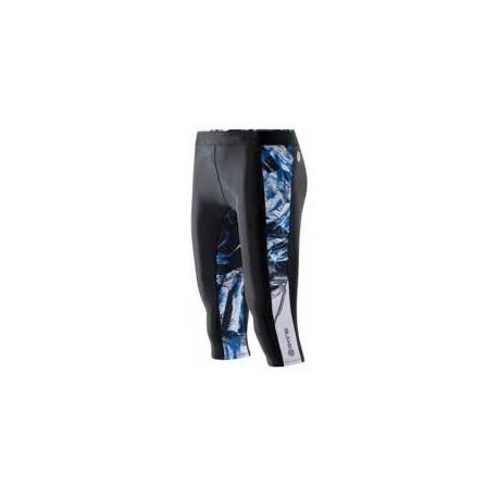 Skins A200 Women's Capri Tights Black/Azure