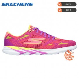 Skechers - Gomeb Speed 3 - Femme - Pink/Lime