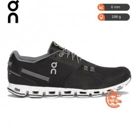 On Running - Cloud Black / White - Homme