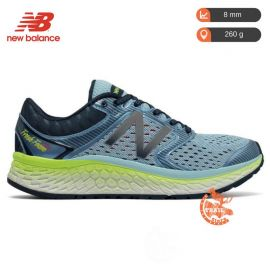 New Balance 1080 V7 Fresh Foam Blue Lime Femme