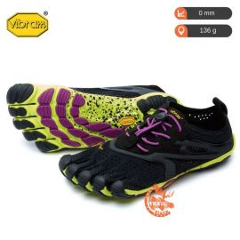 Five Fingers V-Run Black Yellow Purple