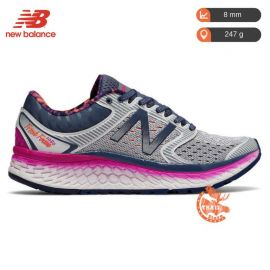 New Balance 1080 V7 Fresh Foam Grey Purple Femme