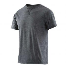 Skins Activewear Avatar mens Top Round Neck Black Marle