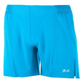 Salomon S/Lab Running Short 6 Transcend Blue Homme