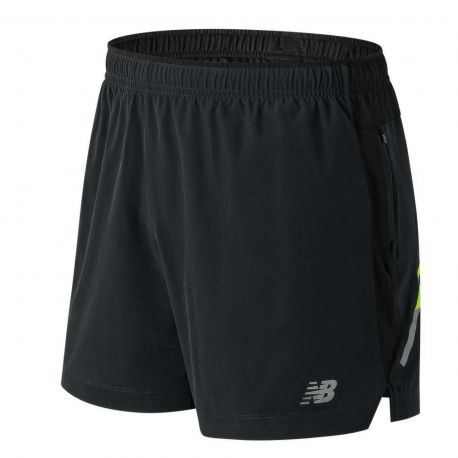 New Balance Short Impact 5 Inch Homme