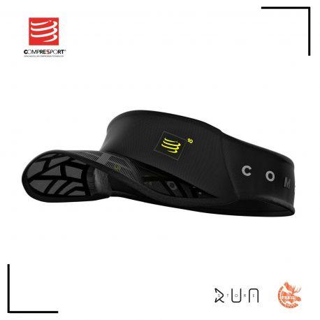 Compressport Spiderweb Ultralight Visor Black Edition 10