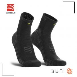 Compressport Pro Racing Socks V3.0 Run Hi Black Edition 10