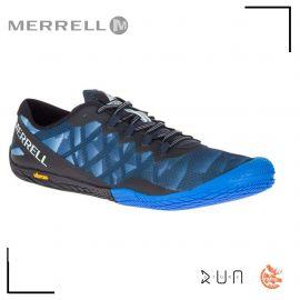 Merrell Vapor Glove 3 Blue Sport Homme