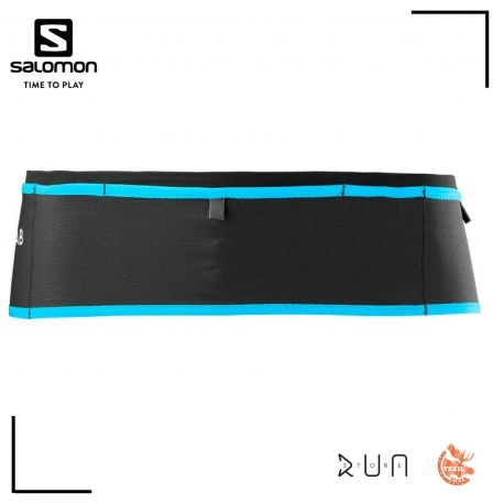 Salomon Unisex S/Lab Modular Belt Black Transcend Blue