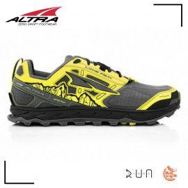 Altra Lone Peak 4.0 Grey Yellow Homme
