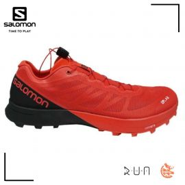 Salomon S/LAB Shoes Sense 7 SG Racing Red Black White