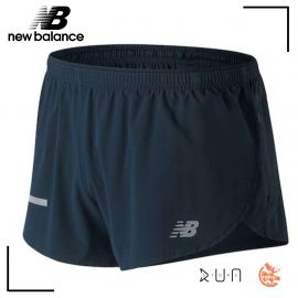 New Balance Short Impact Split 3 Inch Galaxie Homme