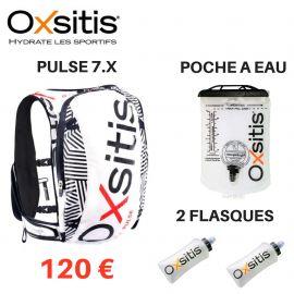 Pack Oxsitis Pulse 7 litres + Poche à eau 1 litre