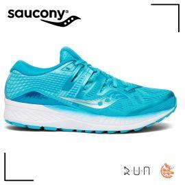 ab3811d9c94 Saucony Ride ISO Blue Femme bleue clair