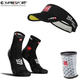 Pack Compressport Ultra Visor + Chaussettes