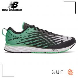New Balance 1500 V5 Black with Neon Emerald Homme drop 6mm