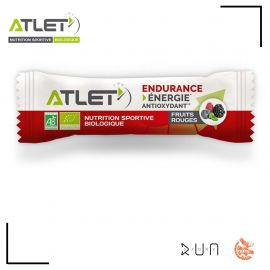 Atlet Nutrition Barre Fruits Rouges Biologique 25G
