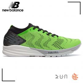 New Balance FuellCell Impulse Vert Noir Homme drop 6 mm