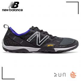 New Balance Minimus 10 V1 Trail Black with UV Blue Homme drop 4 mm