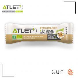Atlet Nutrition Barre Salée Noix de cajou Pistache 25G