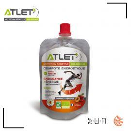 Atlet Nutrition Compote Pomme Abricot Biologique 100 G