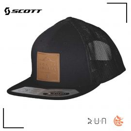 Scott Cap Leather Black Black