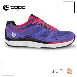 Topo Athletic Fli Lyte 2 Bleu Pink Femme