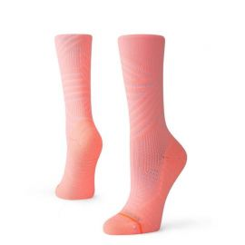 Stance Training Uncommon Train Crew Neon Coral Femme