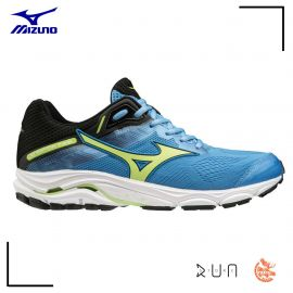 Mizuno Wave Sky 2 Azur Blue Green Black Homme